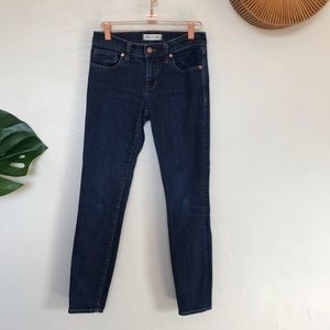 Madewell Skinny Skinny Ankle Jeans, size 25